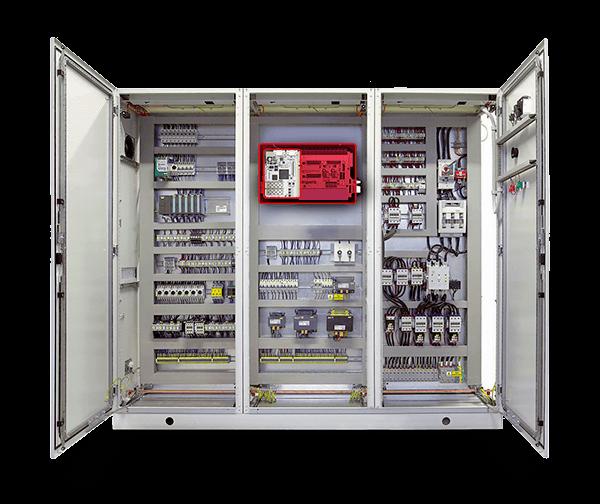 Medium voltage power inverter with the B-Board PRO control board.