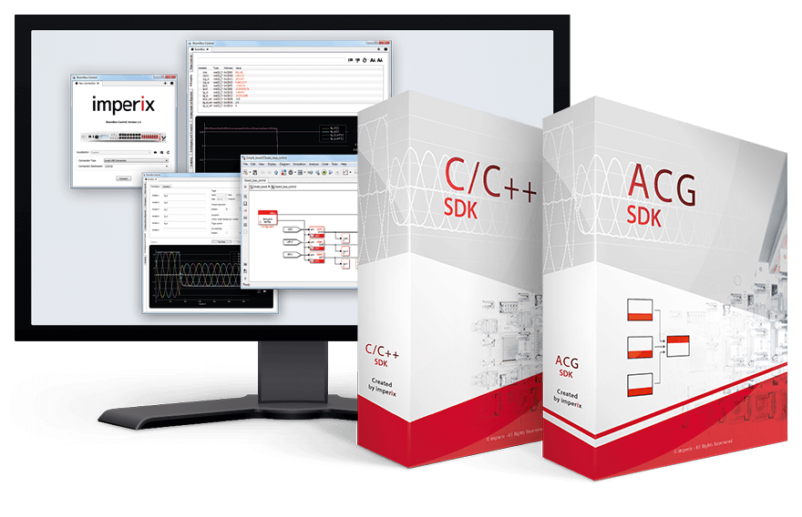 Software development environments compatible with imperix programmable controllers.