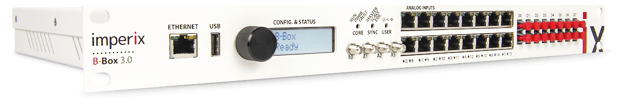 B-Box RCP power electronic controller for rapid control prototyping.