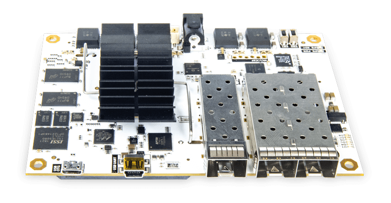 Angled view of the B-Board power electronic controller.